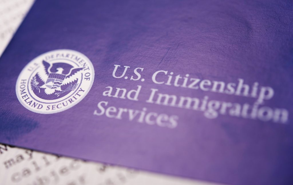 US Homeland Security Citizen and Immigration