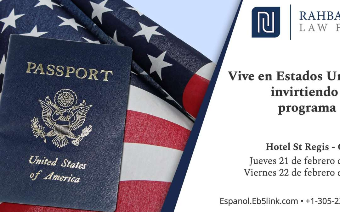 Live In The United States By Investing $500,000 in the EB-5 Program